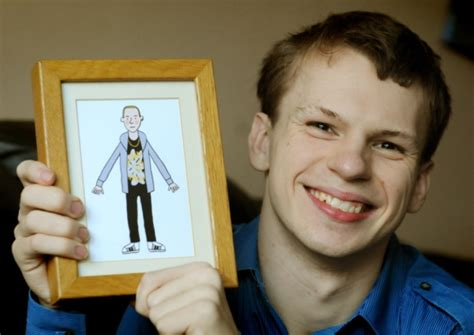 actor chris slater young actor defies disability to become tv star shields