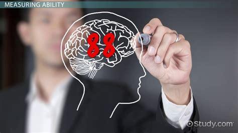 intellectual ability definition dimensions lesson transcript study