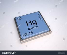 mercury chemical element of the periodic table with symbol