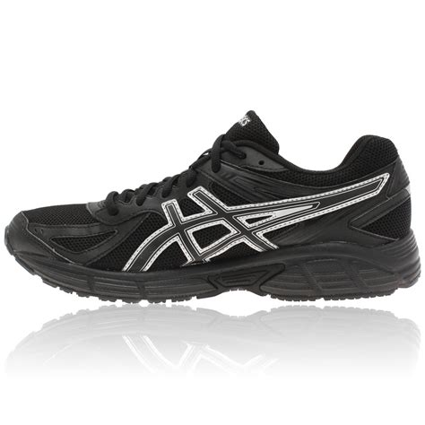 brand asics patriot 7 womens running shoes black for sale