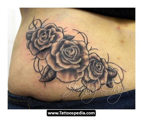 rose vine tattoos on back vines tattoos