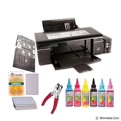 Sun Pvc Id Card Platinum 0 76 jual epson printer l800 printer bisnis inkjet murah