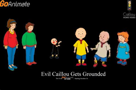 evil caillou  grounded production contact info