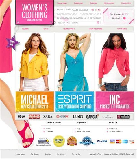 fashion store template 17 best images about fashion themes on shops