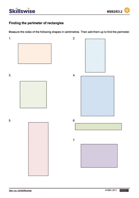 area of rectangles and squares worksheet worksheets for