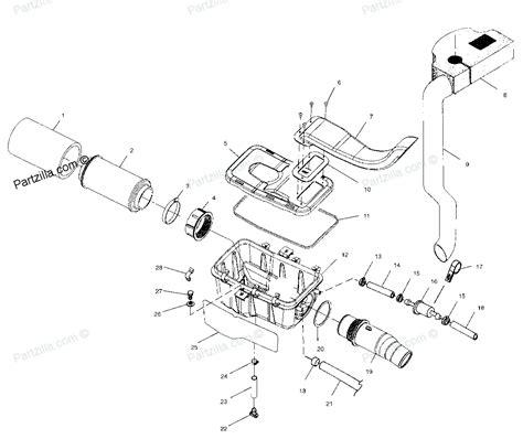 polaris sportsman 500 ho parts diagram polaris atv parts 2001 a01ch50aa sportsman 500 ho air box