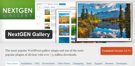 wordpress themes nextgen gallery top wordpress gallery plugins