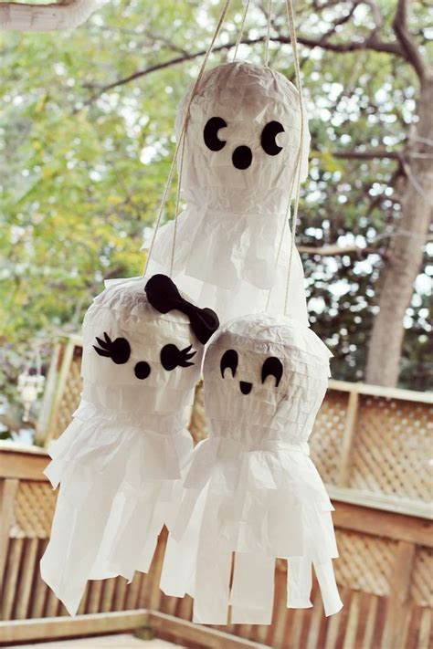 diy ghost 40 scary ghost decorations ideas