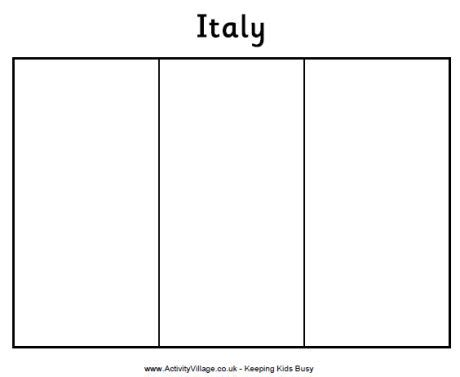 flag to colour template geography for italy flag coloring page geography