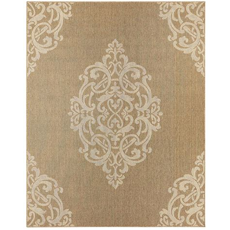 Mohawk Home Paloma Natural 9 Ft X 12 Ft Area Rug 005014 Mohawk Home Area Rug