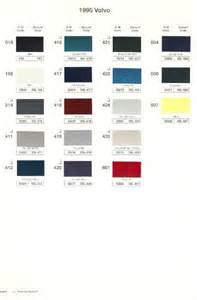 1995 volvo paint color sample chips card oem colors ebay