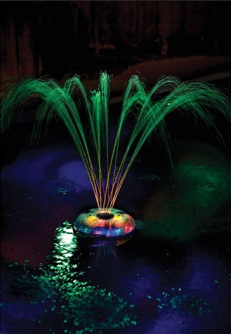 floating solar lights for fountains best 20 floating pool lights ideas on