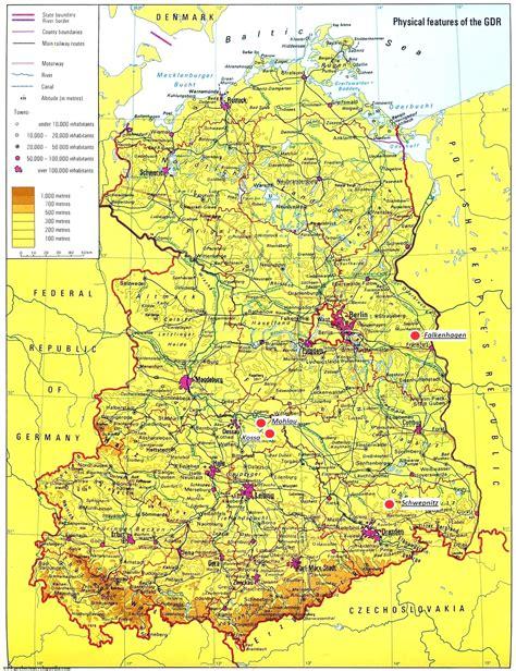 map east germany west germany map of east germany frtka