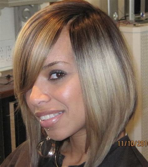 short invisible part hairstyles 32 best quick weave bob images on pinterest hairstyles