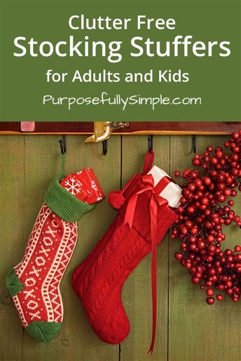 stocking stuffers for adults clutter free stocking stuffers for adults and kids
