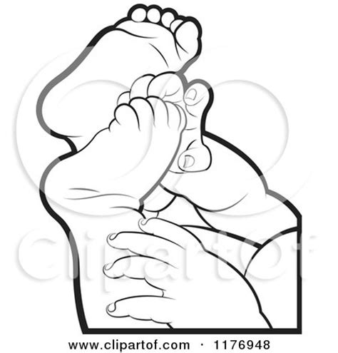 coloring pages of baby feet baby hands colouring pages