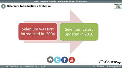 selenium tutorial powerpoint slides ppt selenium introduction training powerpoint