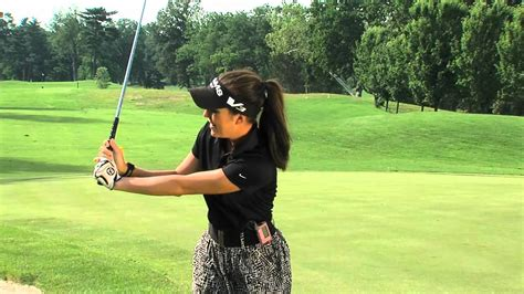 video golf swing golf instruction how to create lag and wrist hinge