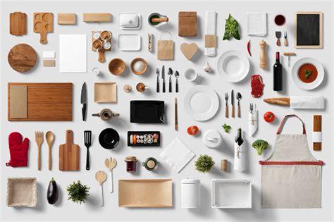 Hoc Premium Black Set Suit 20 restaurant branding mock up psd design