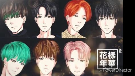 bts anime pictures bts anime