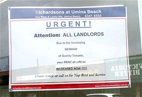 Landlord Rent Increase Letter Nsw Greedy Landlords Rorting Rents Dailytelegraph Au