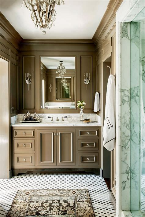bathroom in classical modern ethnic and country design barbara westbrook s gracious homes countertops cabinets