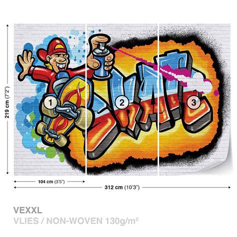 wallpaper graffiti skate graffiti skate wall mural photo wallpaper 3052dk ebay