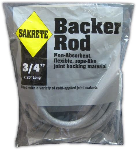 sakrete backer rod gt king home improvement products