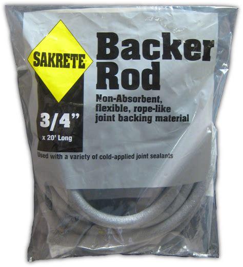 sakrete backer rod gt king home improvement products