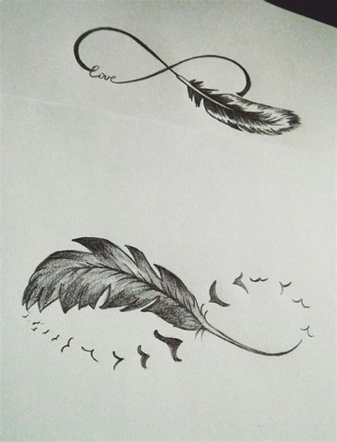 infinity with feather meaning best 25 infinity feather tattoos ideas on