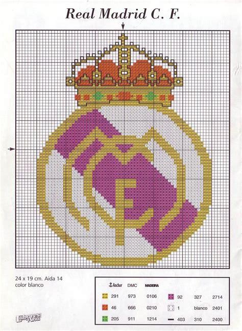imagen en punto en cruz el escudo de emelec c 243 mo hacer escudos de futbol con punto de cruz