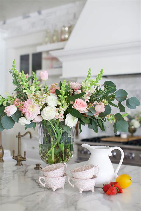 Flower Kitchen Decor by Ready For Spring Pink Peonies By Rach Parcell Bloglovin