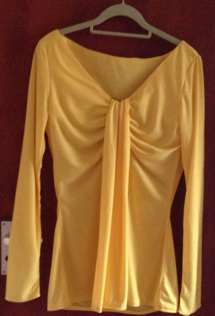 drape neck top pattern draped neck top sewing projects burdastyle com