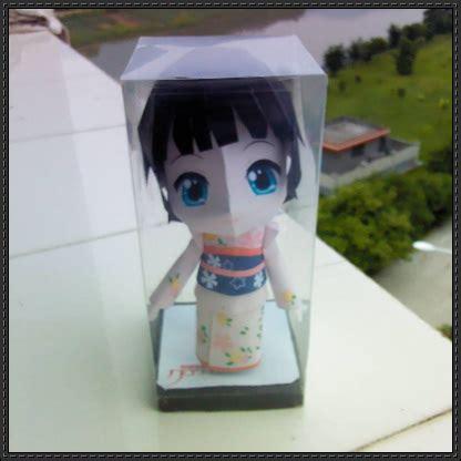 Papercraft Figures - ikoku meiro no croisee chibi yune free figure papercraft