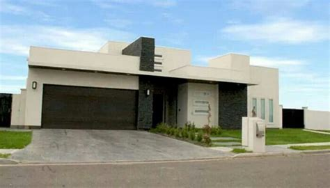 imagenes de casas minimalistas grandes lindas fachadas modernas para casas de un solo nivel