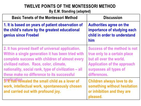 Montessori Theory Essay by Modern Philosophy