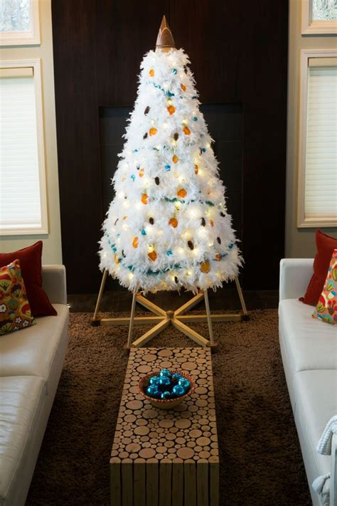 boa garland for christmas tree white feather boas vintage blue tinsel garland pinecones and dried orange slices made a
