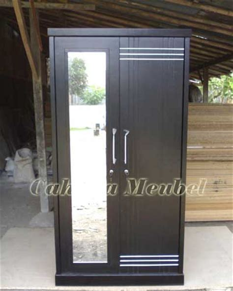 Lemari Es 2 Pintu Baru lemari pakaian minimalis 2 pintu jati jepara asli lemari