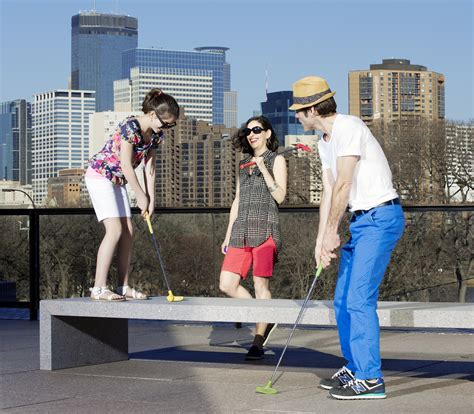 Golf Themed Ls by Artsy Mini Golf In The Park And More The Journal
