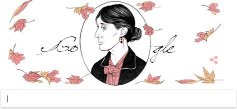 doodle faisal biografi virginia woolf novelis inggris tokoh terbesar