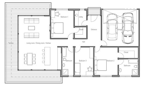 new floor plans 2013 contemporary home plan ch183 floor plan details house plan