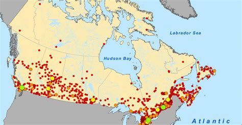 canadian map population density why your high cell phone bills nothing to do with the