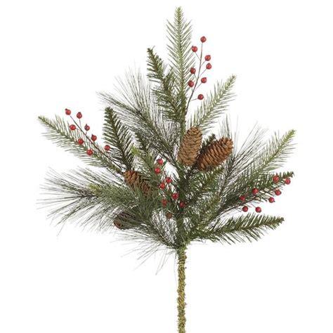 christmas tree picks and sprays amazon com vickerman 32438 christmas picks and spray