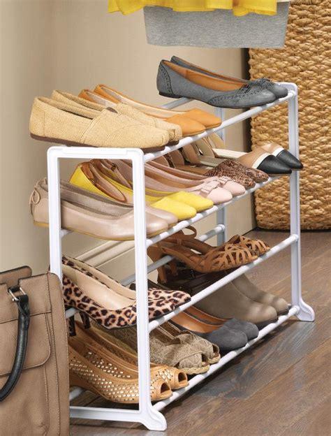 whitmor 6780 3139 wht white resin 20 pair shoe rack