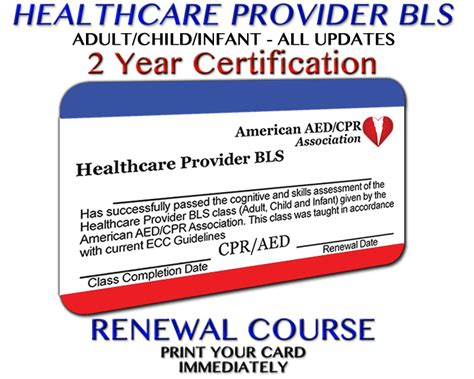 Renewing Cpr Certification Online Choice Image Certificate Design Template Free Bls Healthcare Provider Card Template