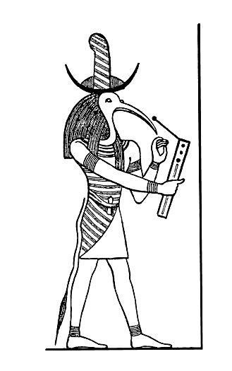 Vetores de Deus Egípcio Tôt e mais imagens de Antiguidade