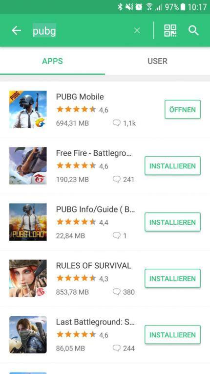 pubg app pubg der mobile version jetzt auch mit guide