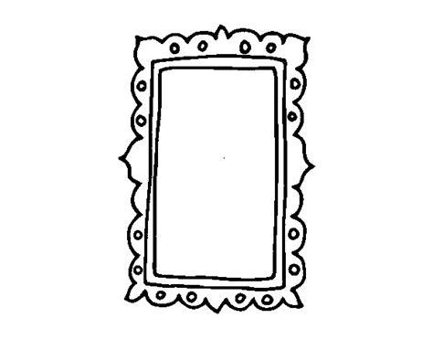 imagenes vintage para imprimir en espejo dibujo de espejo de pared para colorear dibujos net