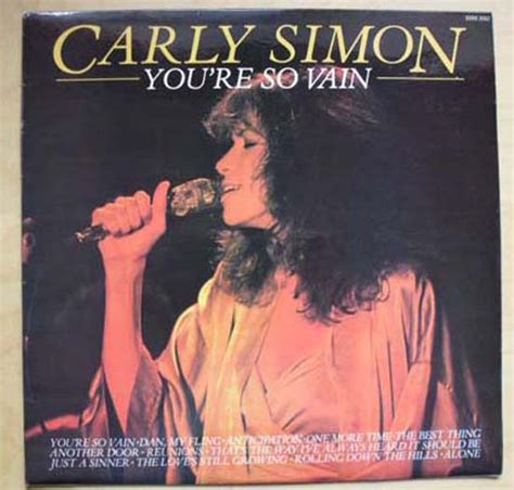 Youre So Vain by Simon You Re So Vain Records Lps Vinyl And Cds