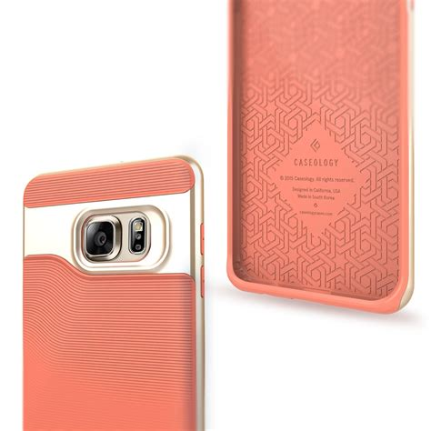 Caseology For Samsung Galaxy S6 Edge Pink galaxy s6 edge plus caseology wavelength series